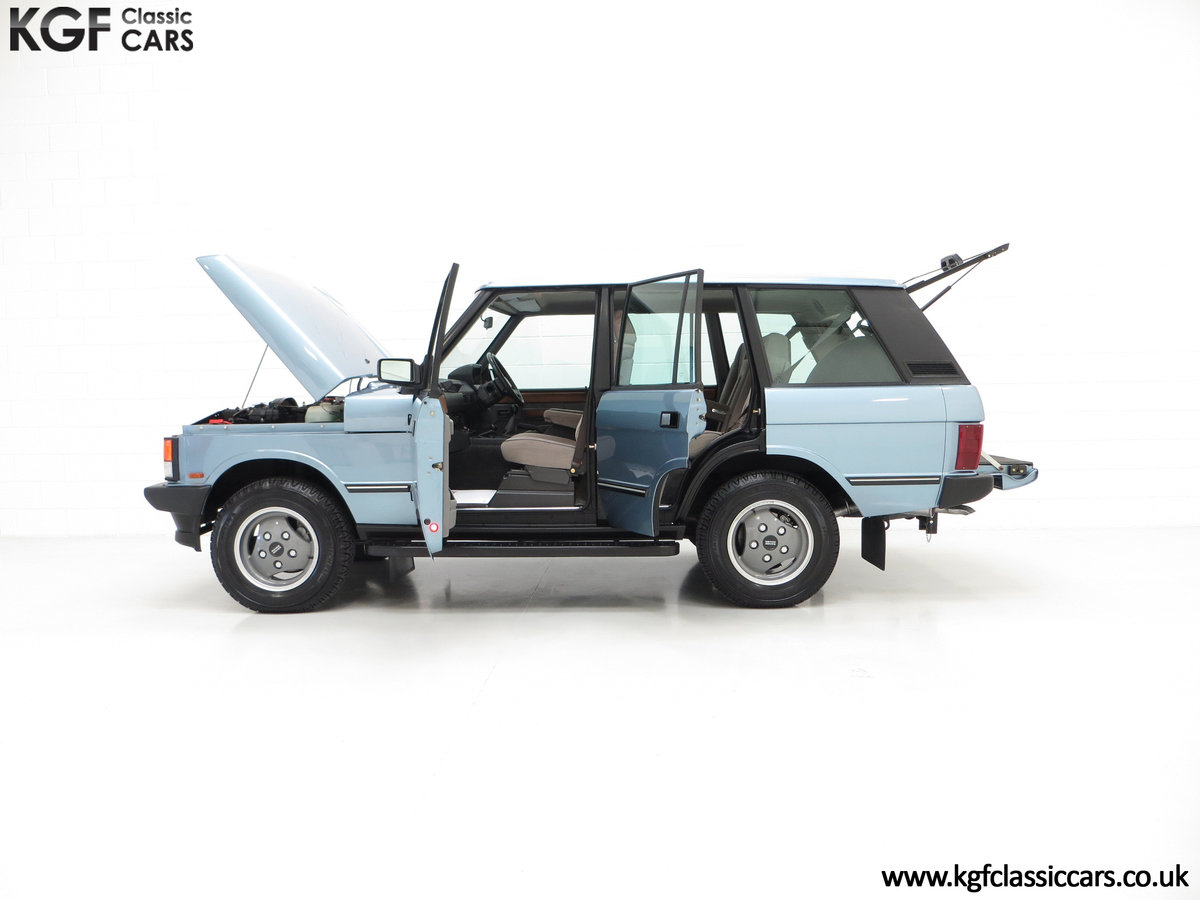 1988 An Outstanding Range Rover Classic Vogue Turbo D 15970 Miles For Sale (picture 3 of 6)