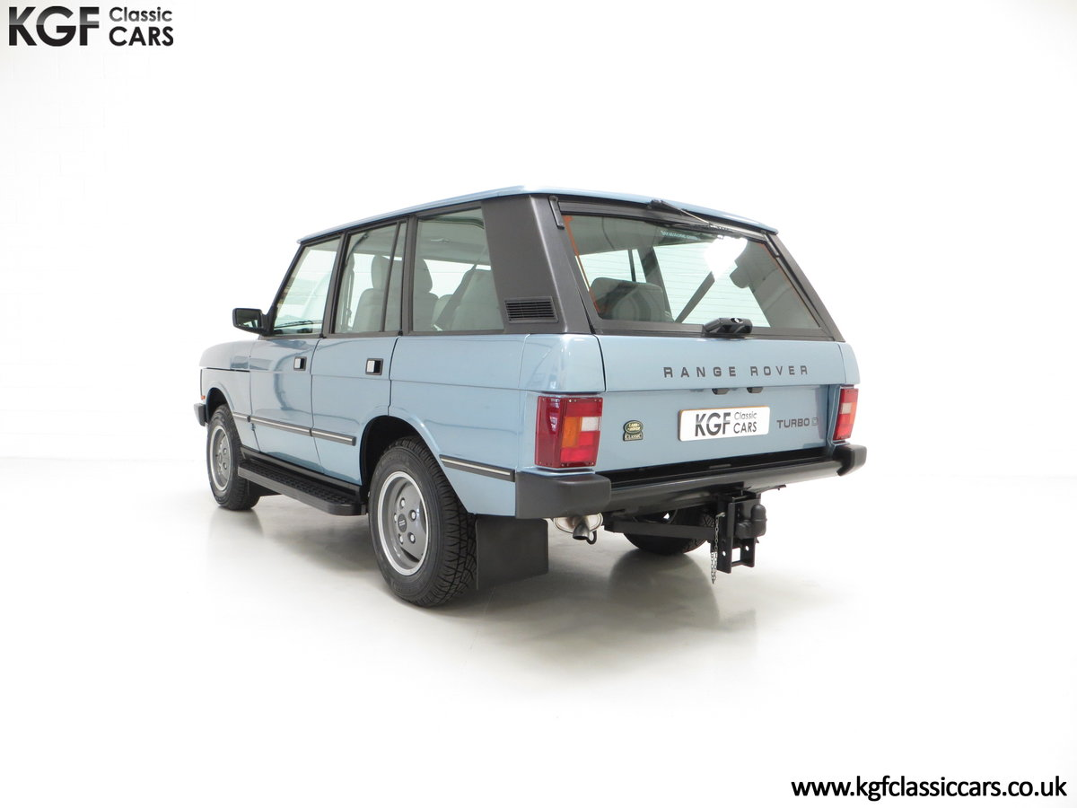 1988 An Outstanding Range Rover Classic Vogue Turbo D 15970 Miles For Sale (picture 4 of 6)