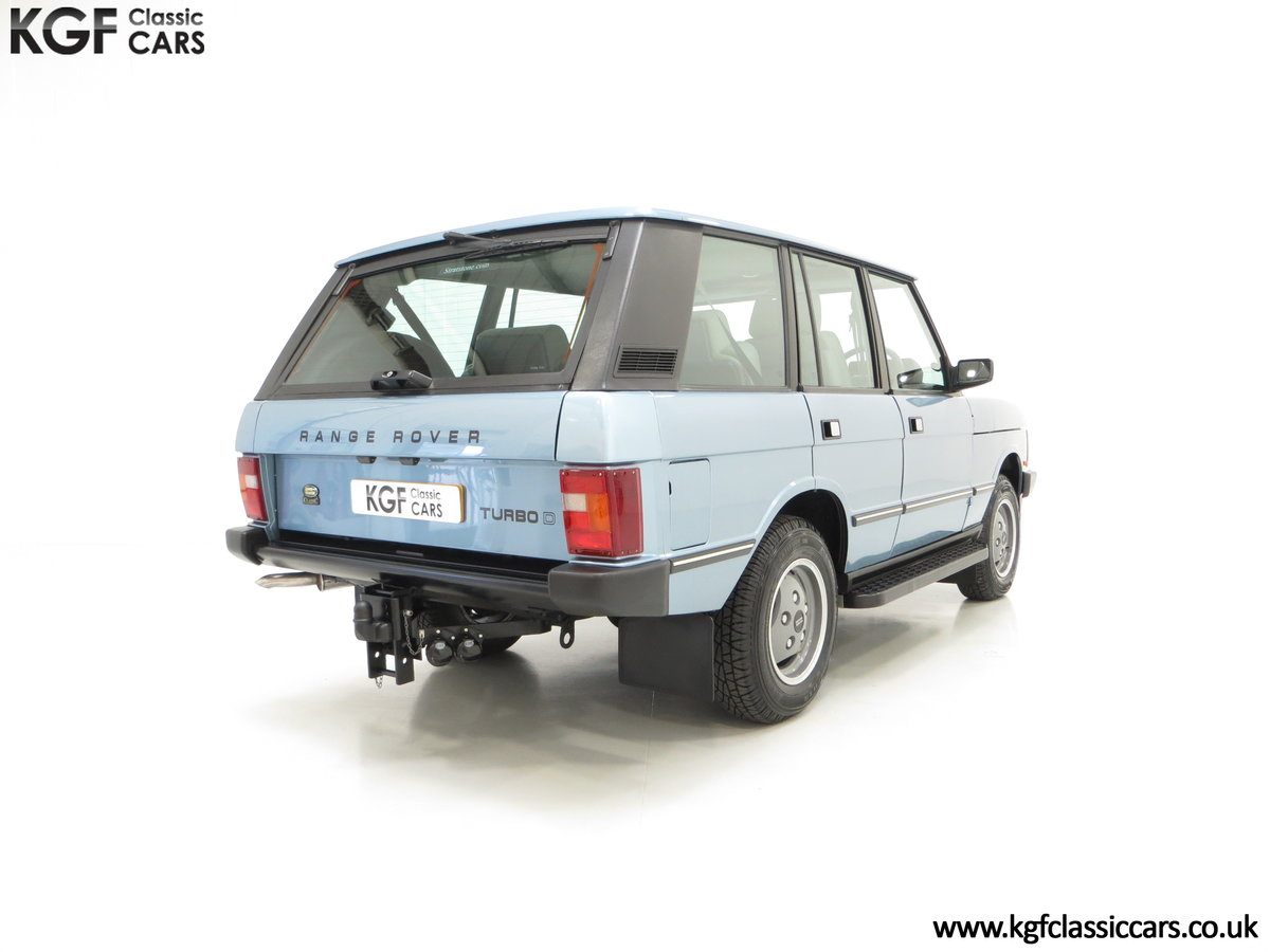1988 An Outstanding Range Rover Classic Vogue Turbo D 15970 Miles For Sale (picture 5 of 6)