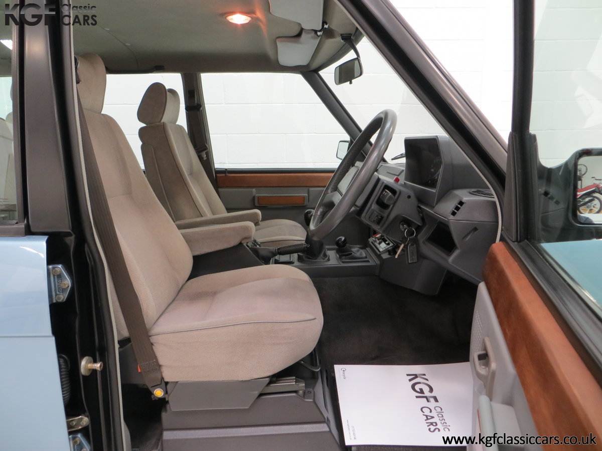 1988 An Outstanding Range Rover Classic Vogue Turbo D 15970 Miles For Sale (picture 6 of 6)