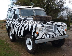 1972 Land Rover series 3. 41,000 petrol  For Sale