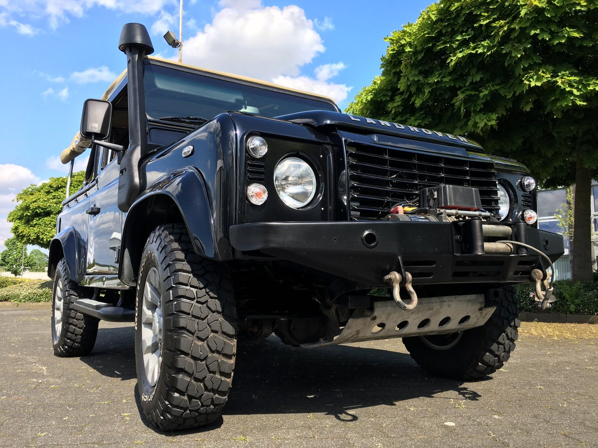2012 Land Rover Defender SOFT TOP LHD    For Sale (picture 1 of 6)