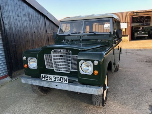 1975 Land Rover ® Series 3 *Galvanised Chassis Rebuild* (HBN) SOLD (picture 1 of 6)