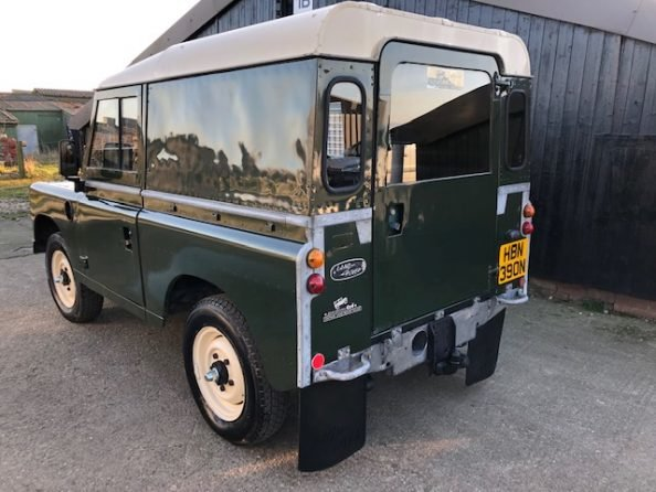 1975 Land Rover ® Series 3 *Galvanised Chassis Rebuild* (HBN) SOLD (picture 3 of 6)