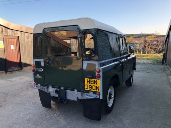 1975 Land Rover ® Series 3 *Galvanised Chassis Rebuild* (HBN) SOLD (picture 4 of 6)