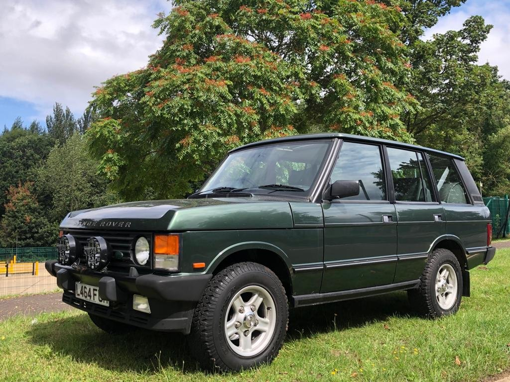 1994 Land Rover Range Rover Classic 3.9 Auto Vogue SE Soft D SOLD (picture 1 of 6)
