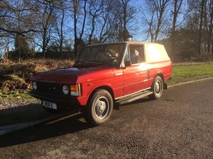 1985 Range Rover Convertible with Hardtop & Softop For Sale