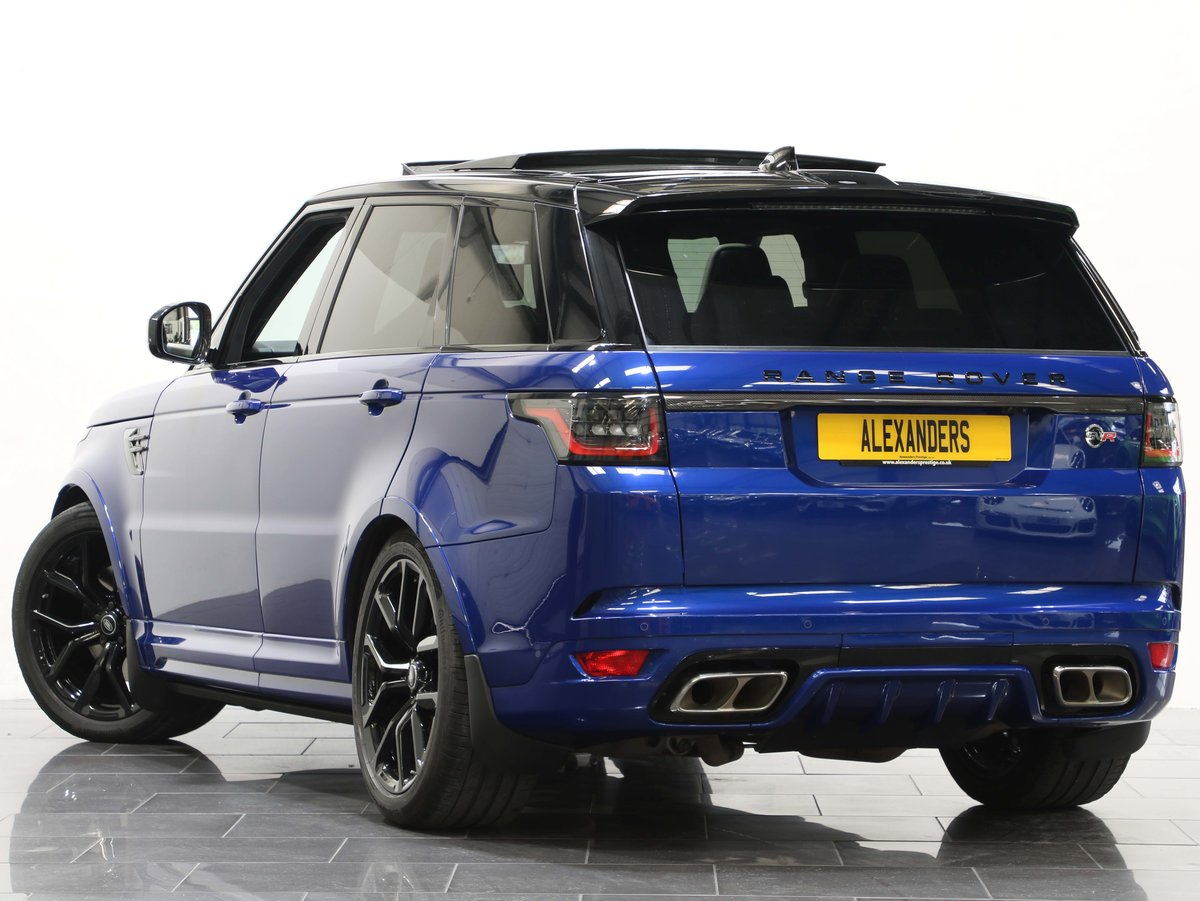 2018 18 68 RANGE ROVER 5.0 V8 SUPERCHARGED SVR AUTO For Sale (picture 3 of 6)