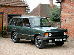 1992 Range Rover Classic 3.9i Vogue  For Sale