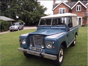 1980 Land Rover Series 3 SWB - Excellent example