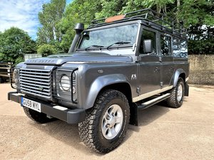 2008 high spec 08/58 Defender 110 TDCi XS utility+85000m 2 owner