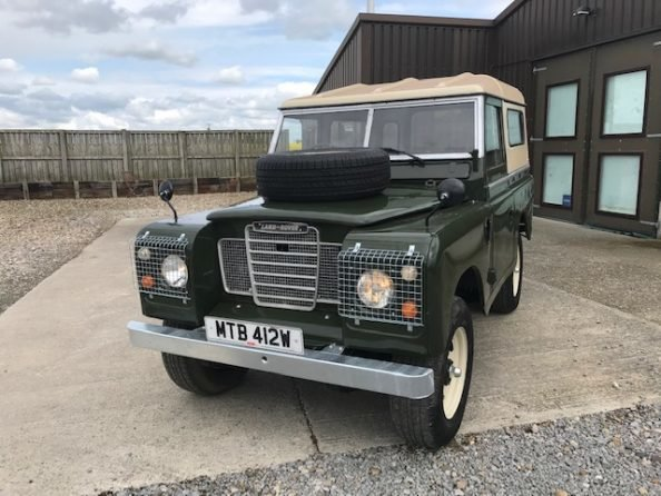 1977 Land Rover® Series 3 *MOT and Tax Exempt* (MTB) SOLD (picture 1 of 6)