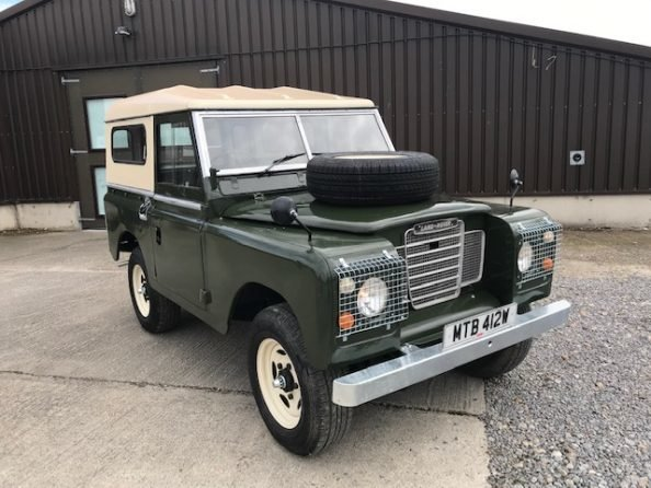 1977 Land Rover® Series 3 *MOT and Tax Exempt* (MTB) SOLD (picture 2 of 6)