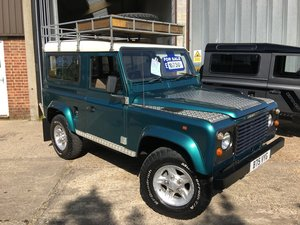 1985 land rover 90 station wagon fitted with a 300 tdi engine For Sale