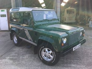 1996 land rover defender 300 tdi county station wagon For Sale