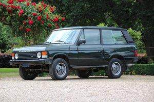 1989 Range Rover 3.9 EFI V8 3 Door  For Sale