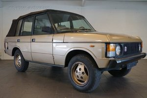 1985 RANGE ROVER Convertible For Sale by Auction