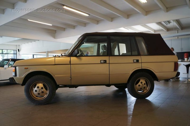 1985 RANGE ROVER Convertible For Sale by Auction (picture 3 of 6)