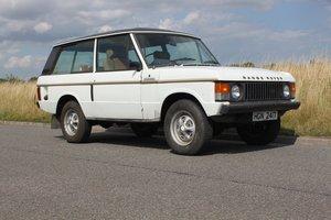 1979 Range Rover Classic UK RHD V8 Petrol - NOW SOLD - SOLD