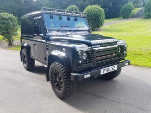 2011 LAND ROVER DEFENDER 90 TDCI COUNTY