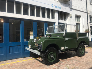 1952 Land Rover LHD Series 1 full restored SOLD