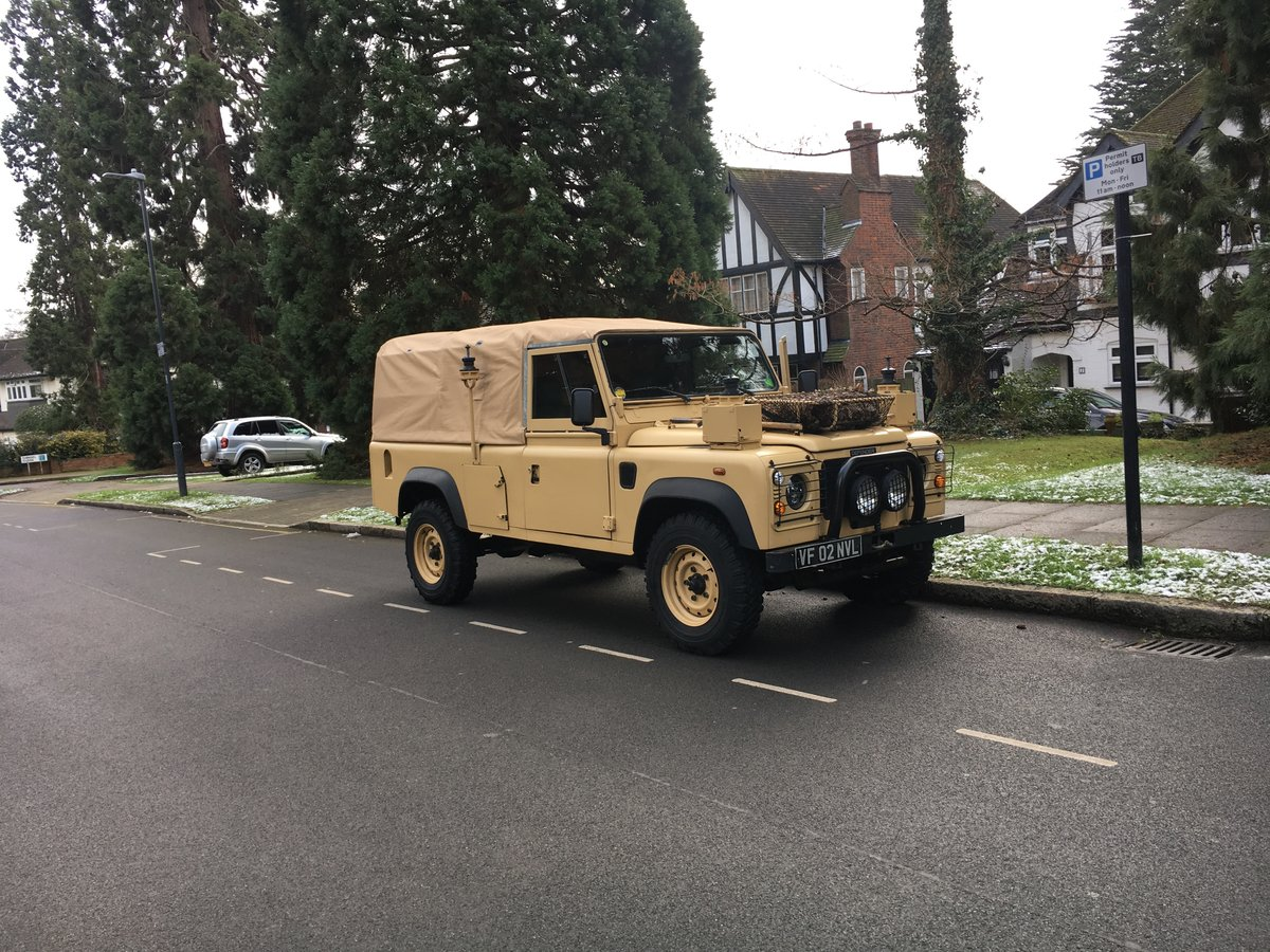 2002 Land Rover Defender Wolf SOLD (picture 1 of 6)