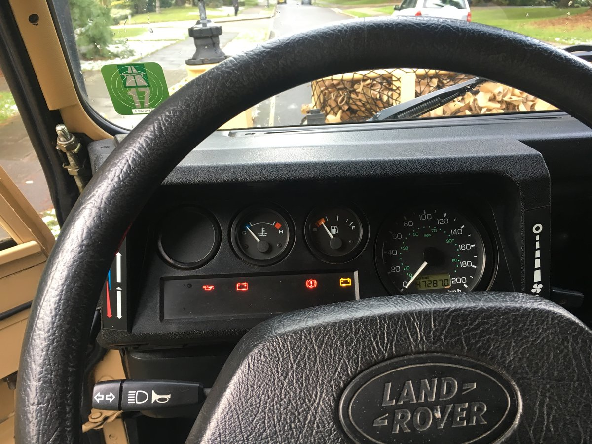 2002 Land Rover Defender Wolf SOLD (picture 4 of 6)
