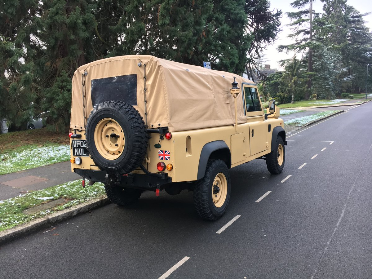 2002 Land Rover Defender Wolf SOLD (picture 5 of 6)