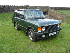 1992 RANGE ROVER CLASSIC – 3.9 EFI – RARE MANUAL GEARBOX For Sale