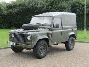 1998 Land Rover Defender Wolf at ACA 24th August
