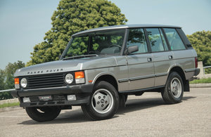 1988 Fantastic low KM LHD Range Rover 3.5 Vogue Inj. A 1 owner ! SOLD