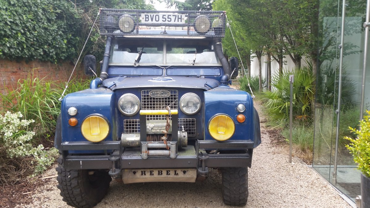 1965 Land Rover Series 2A Modified 'Green Lane' Project For Sale (picture 1 of 6)