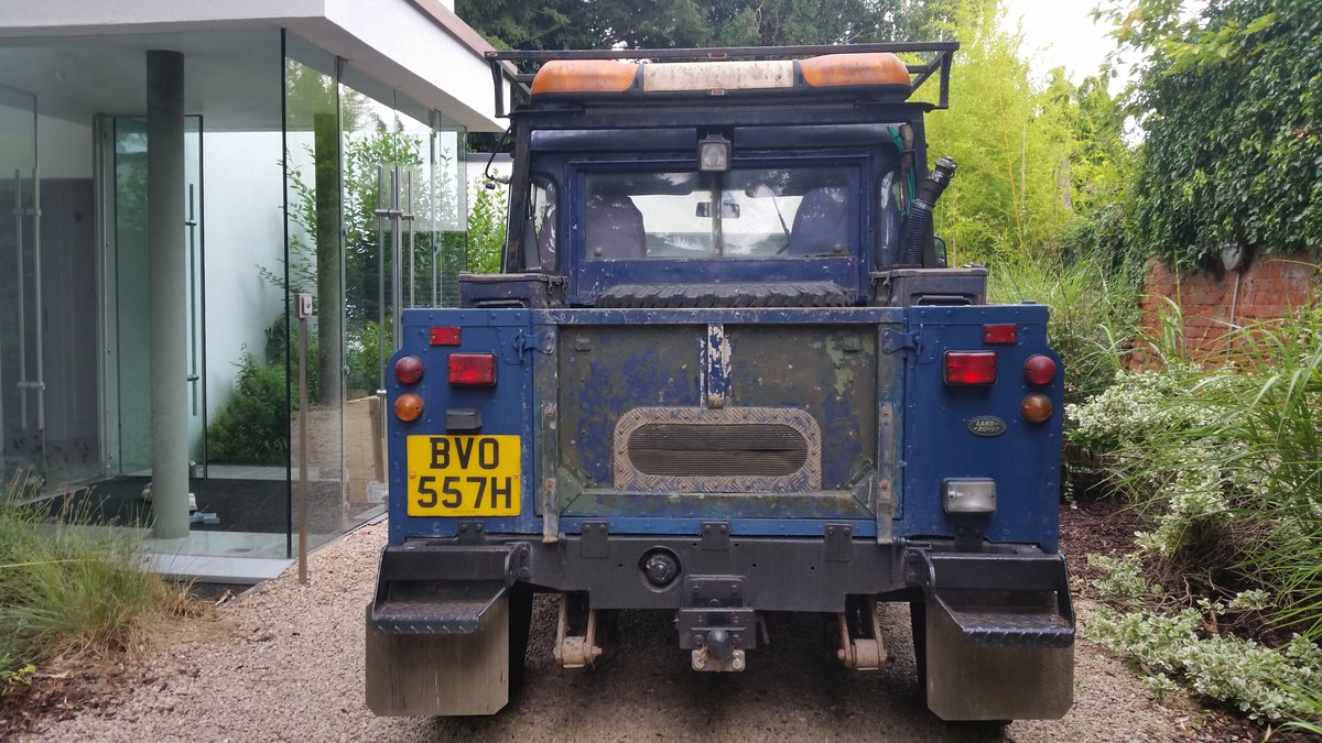 1965 Land Rover Series 2A Modified 'Green Lane' Project For Sale (picture 2 of 6)