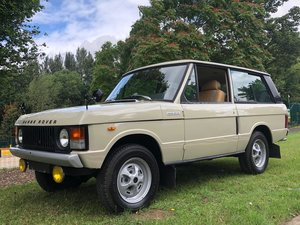 1974 Land Rover Range Rover Classic 3.5 V8 Manual SOLD