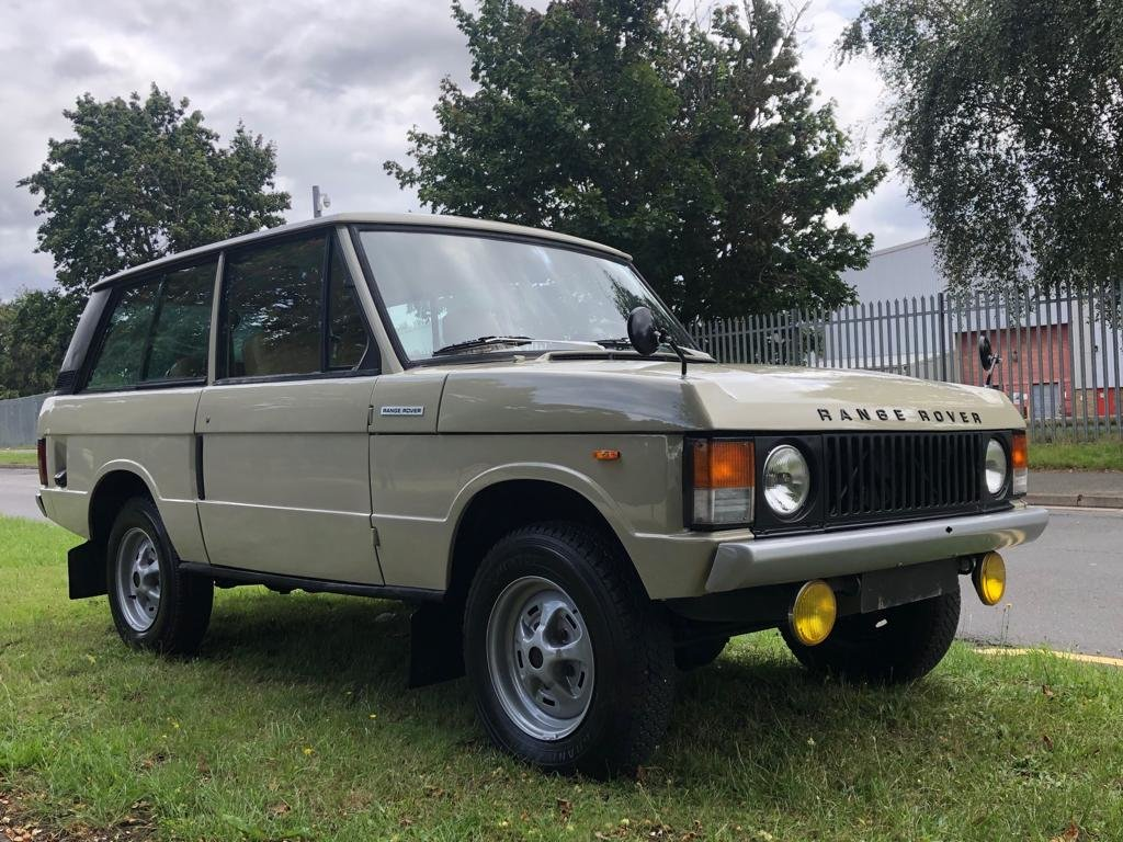 1974 Land Rover Range Rover Classic 3.5 V8 Manual SOLD (picture 3 of 6)
