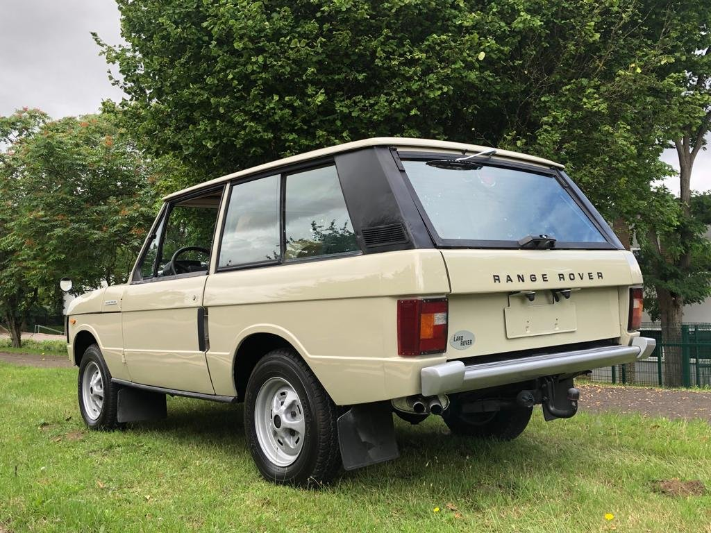 1974 Land Rover Range Rover Classic 3.5 V8 Manual SOLD (picture 4 of 6)