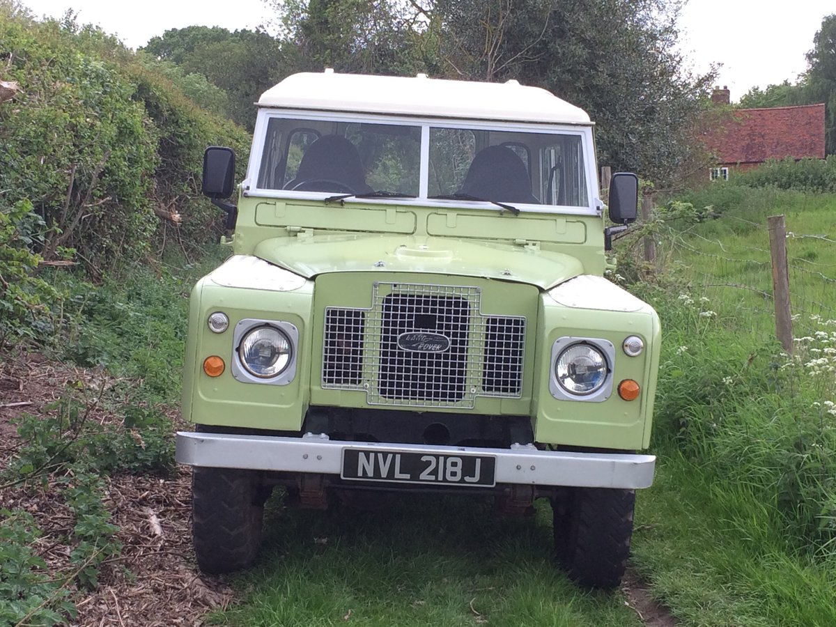 1971 Land Rover Series 2A Very useable   SOLD (picture 1 of 6)