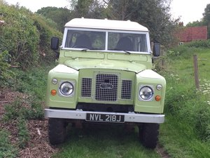 1971 Land Rover Series 2A Very useable
