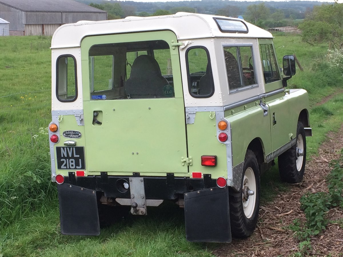 1971 Land Rover Series 2A Very useable   SOLD (picture 3 of 6)