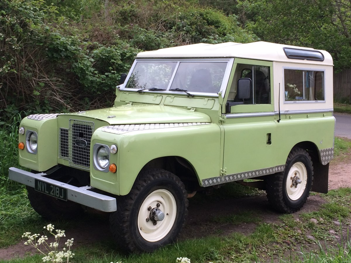1971 Land Rover Series 2A Very useable   SOLD (picture 5 of 6)