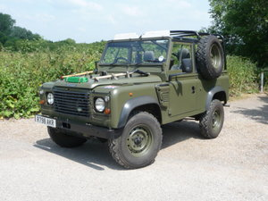 1998 Land Rover Defender Wolf 90 Soft Top. CAR NOW SOLD