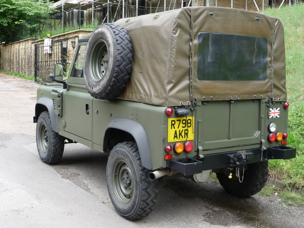 1998 Land Rover Defender Wolf 90 Soft Top genuine  For Sale (picture 2 of 6)