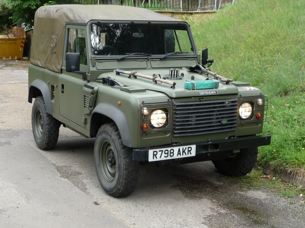1998 Land Rover Defender Wolf 90 Soft Top genuine  For Sale (picture 3 of 6)