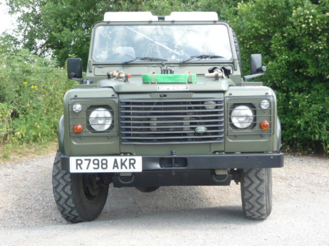 1998 Land Rover Defender Wolf 90 Soft Top genuine  For Sale (picture 5 of 6)