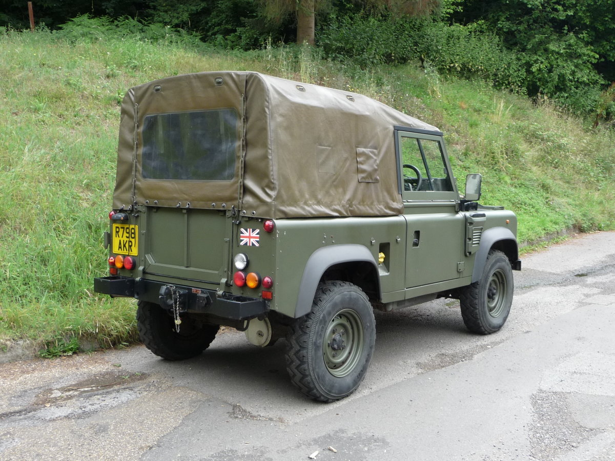 1998 Land Rover Defender Wolf 90 Soft Top genuine  For Sale (picture 6 of 6)