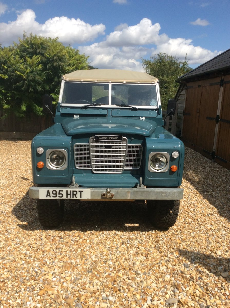 1984 Land Rover Series 3 Soft Top SOLD (picture 1 of 6)