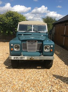 1984 Land Rover Series 3 Soft Top For Sale