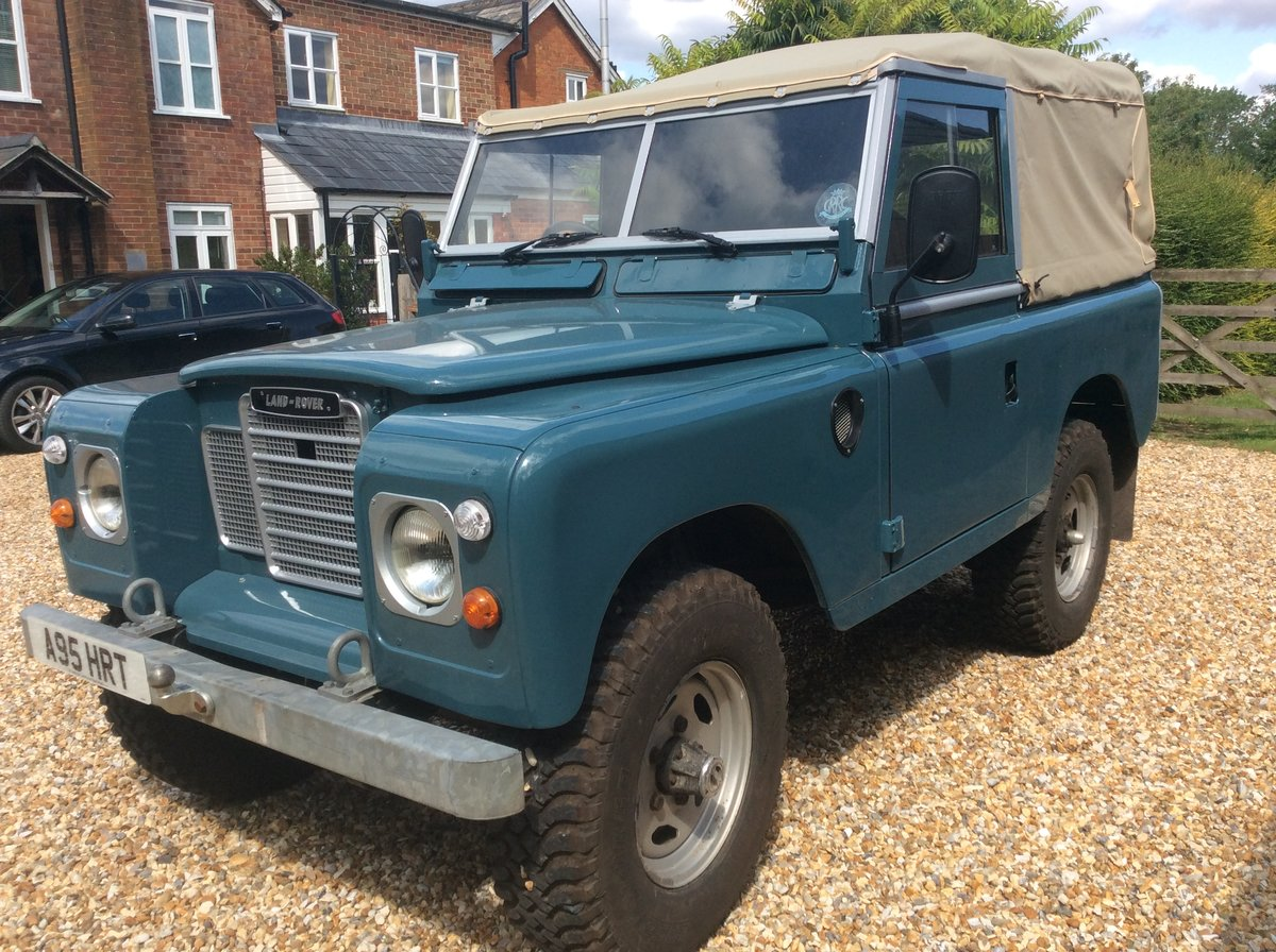 1984 Land Rover Series 3 Soft Top For Sale (picture 4 of 6)