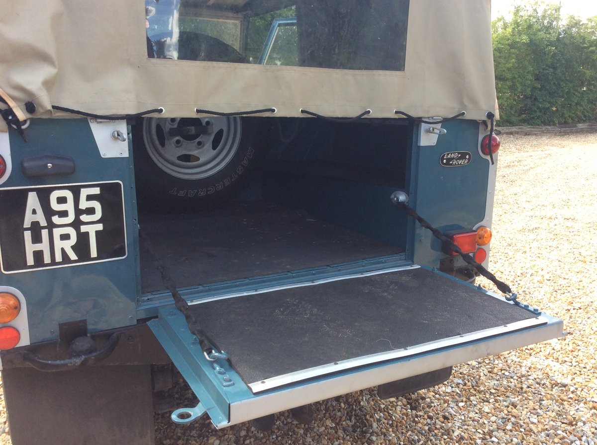 1984 Land Rover Series 3 Soft Top For Sale (picture 5 of 6)