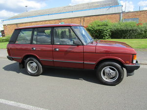 1991 STUNNING RANGE ROVER VOGUE AUTO For Sale